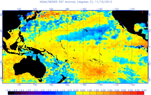 El Niño forecast Australia & New Zealand 2012-2013