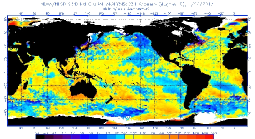 current SST anomalies around the world - winter 2013