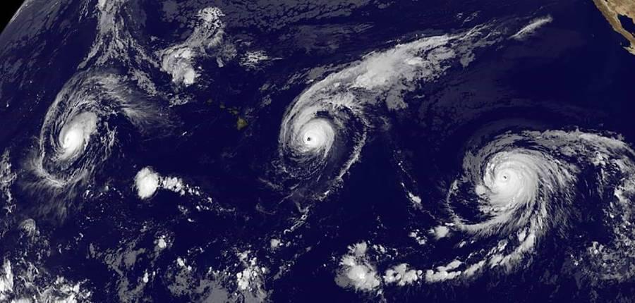 2015 El Niño fuelling Pacific hurricanes