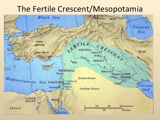 The fertile crescent of Israel, Lebanon, Syria and Iraq is increasingly threatened by climate change