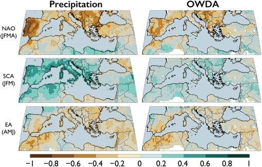 Possible climate teleconnections to Mediterranean drought