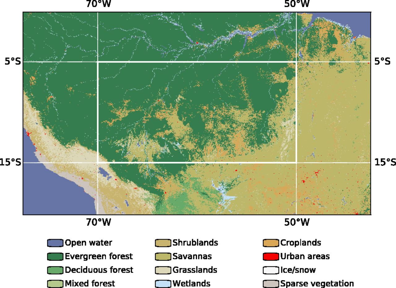 Deforestation in the Amazon decreases rain, PNAS study