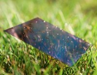 World's first completely plastic solar cell