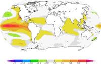 El Niño ocean warming