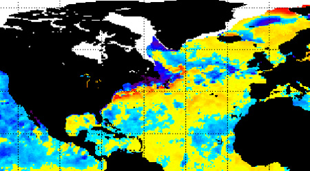 Atlantic SST La Niña - influencing NAO forecast