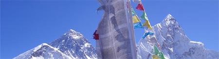 Climate change causes Himalayan glacier melting
