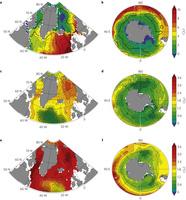 Ice sheet melting Greenland & Antarctica