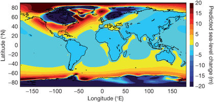 Interglacial sea level rise Nature