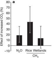 Soils climate feedback: CO2, methane, nitrous oxide