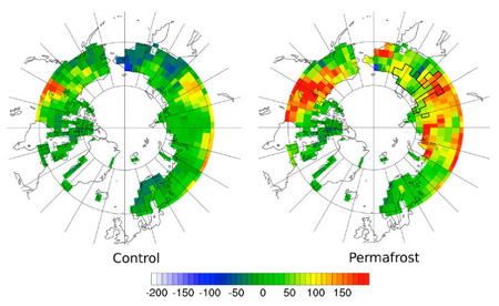 Tundra from carbon sink to carbon source, CO2 or methane?