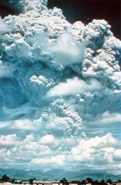Extreme geoengineering: one Pinatubo every 18 months